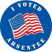 I Voted Absentee
